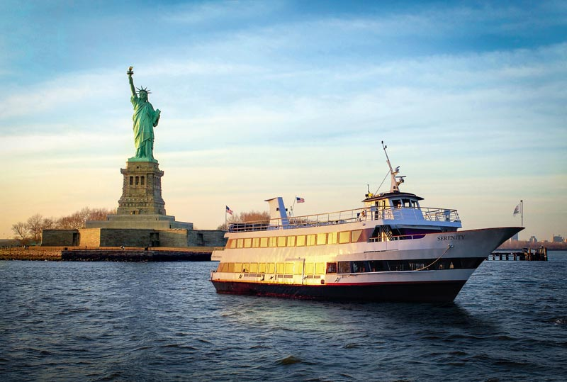 Hornblower and the Statue of Liberty
