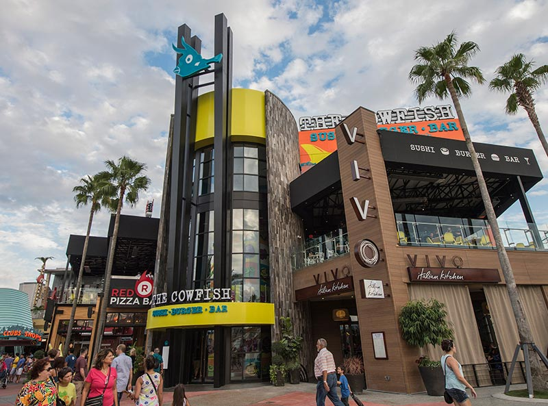 The Cowfish at Universal CityWalk – Day