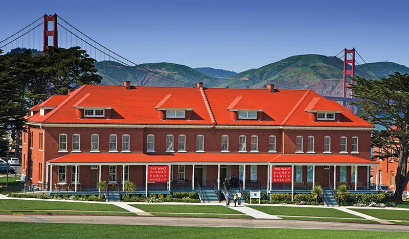 The Walt Disney Family Museum - Exterior