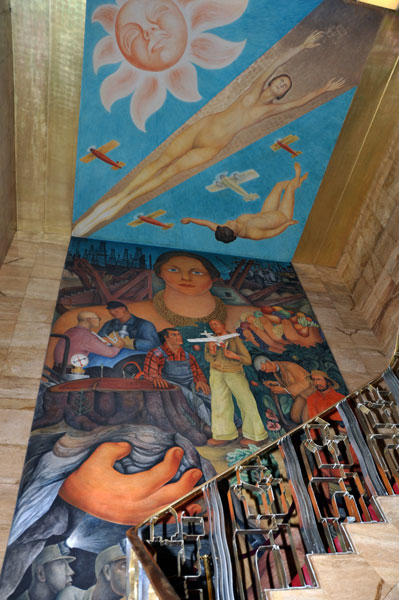 Mural tours in san francisco through an artist s eyes for Diego rivera mural in san francisco