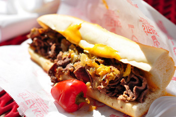 Pat's King of Steaks Philly Cheesesteak