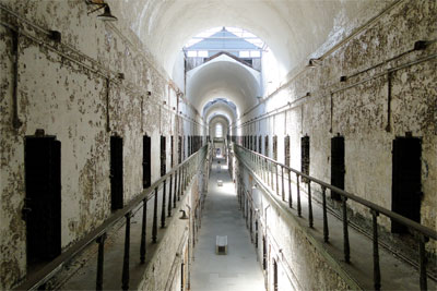 Inside the Eastern State Penitentiary
