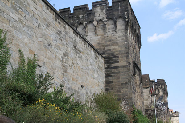 Eastern State Penitentiary Wall