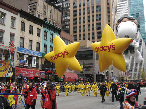 Macys Snoopy Balloon