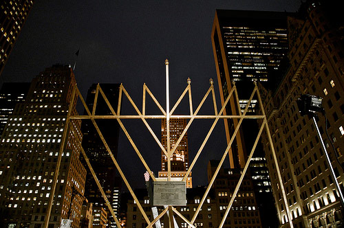 NYC Menorah