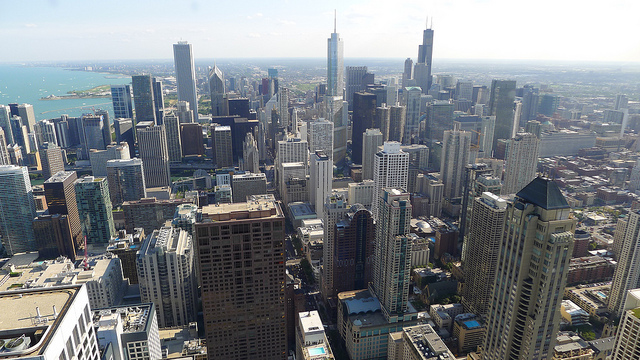 View from 360 Chicago