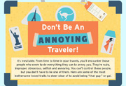 Don't Be An Annoying Traveler